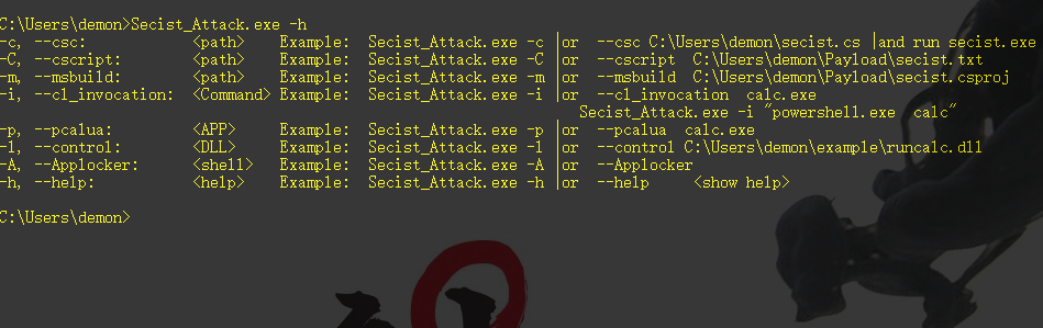 secist_Apploacker_bypass | Demonsec